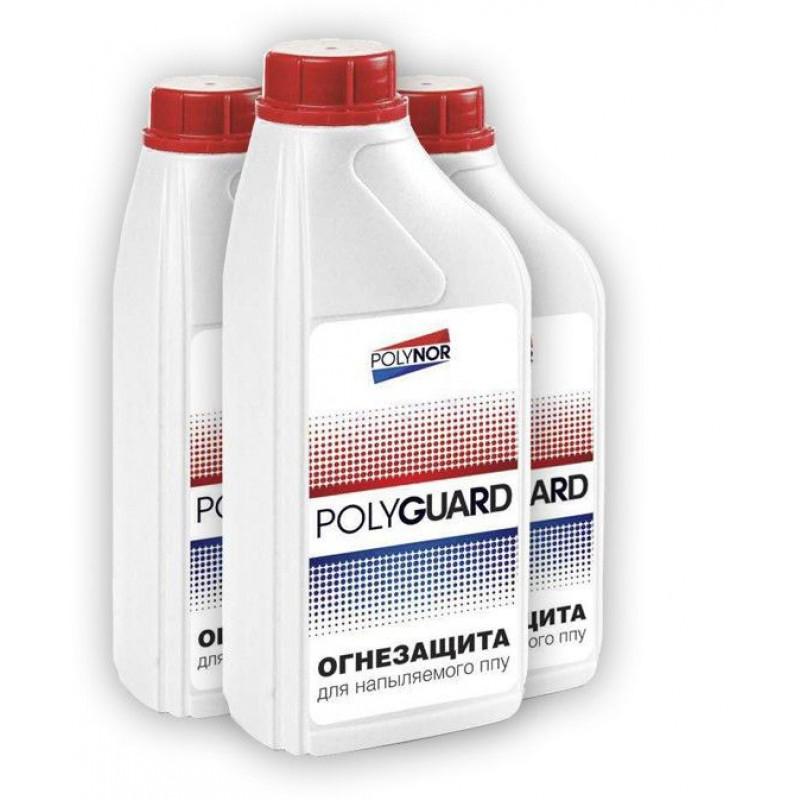 Огнезащита Polyguard для НПУ Polynor, 1000 мл, фото 2