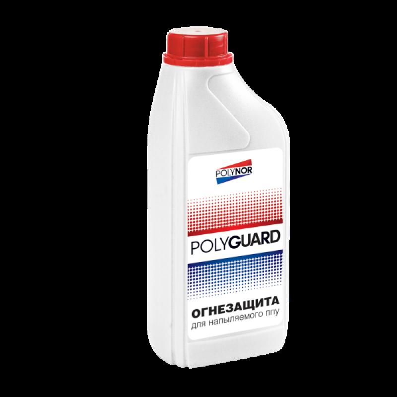 Огнезащита Polyguard для НПУ Polynor, 1000 мл
