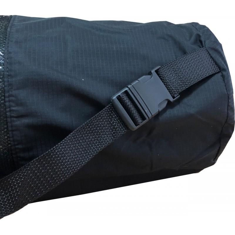 Чехол XL для туристического каремата шириной 60 см, толщиной от 10 до 12 мм (диаметр до 20 см), черный, фото 4