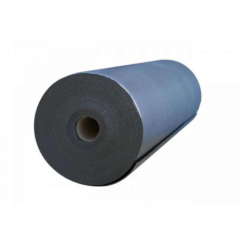 Вспененный полиэтилен Polifoam (Полифом) 5 мм ламинированный металлизированной пленкой ВОРР, рулон 27,5 м.кв. (ППЭ 3005/ВОРР 1,1х25м), фото 2