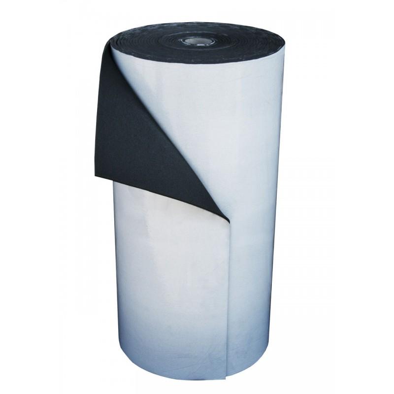 Пенополиэтилен Polifoam 8 мм самоклеящийся (3008 с клейким слоем, химически сшитый ППЭ, рулон 25 м.кв.), фото 1