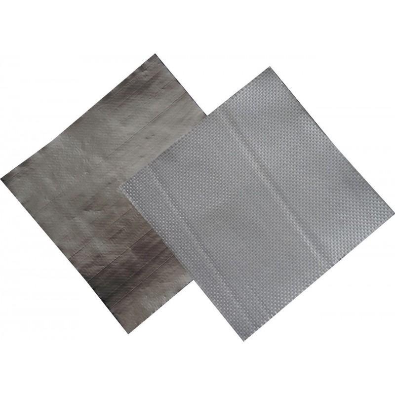 Фольгированная стеклоткань АЛЮХОЛСТ (рулон 50 м. кв.), фото 2