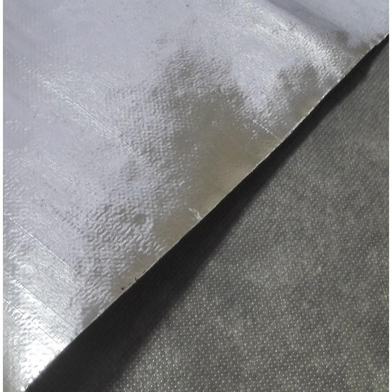 Фольгированное нетканое полотно АЛЮБОНД (рулон 50 м. кв.), фото 3