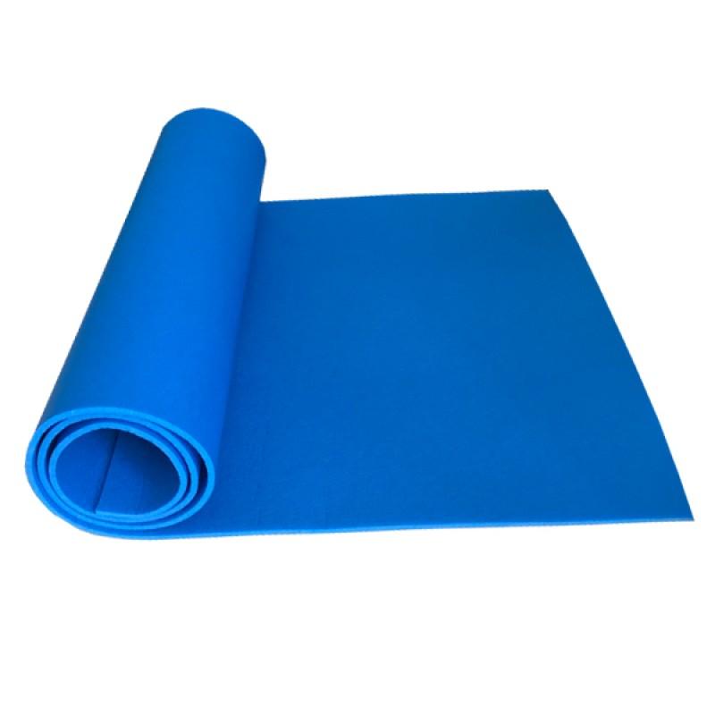 Коврик детский Polifoam (Полифом) для занятий спортом (0,5 х 1,5 м), синий, фото 2