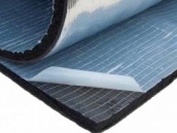 Вспененный каучук с фольгированной стеклотканью самоклеящийся, фото