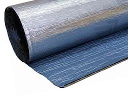 Вспененный каучук фольгированный самоклеящийся, фото