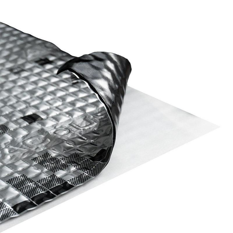 Виброизоляция для автомобилей Acoustics Alumat 2,2 мм, фото 2