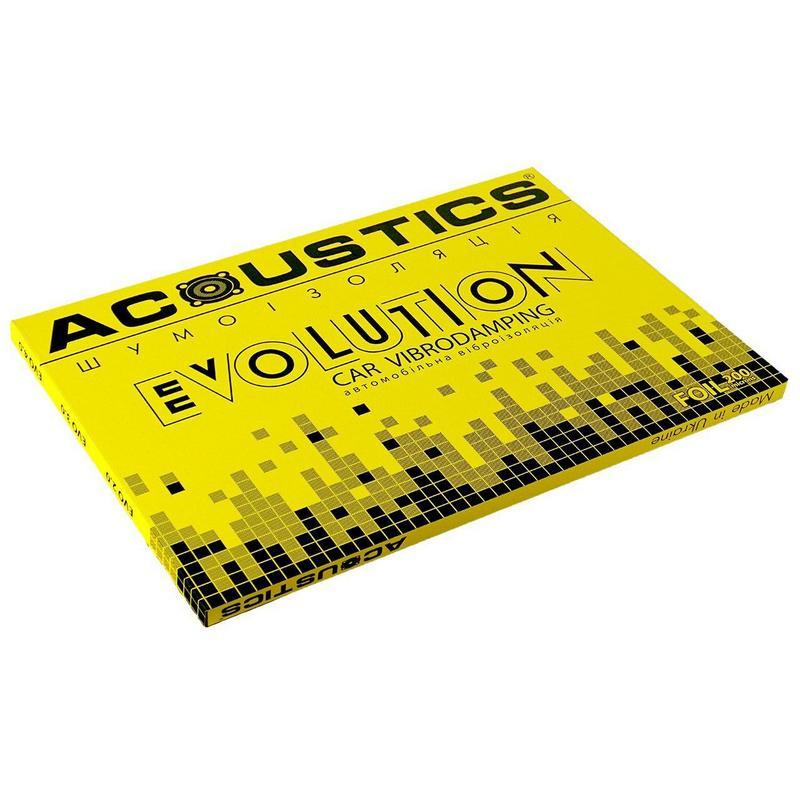 Виброизоляция для автомобилей Acoustics  Evolution 2 мм, фото 1