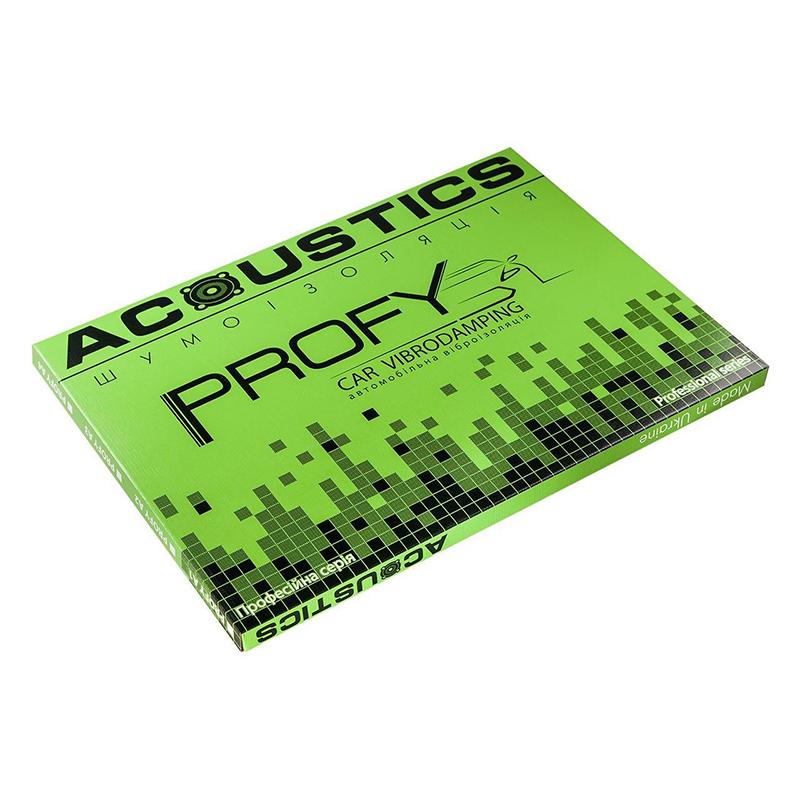 Виброизоляция для автомобилей Acoustics Profy 2,2 мм, фото 1