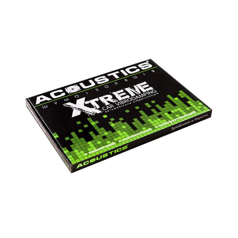 Виброизоляция для автомобилей Acoustics Xtreme 3 мм, фото 1