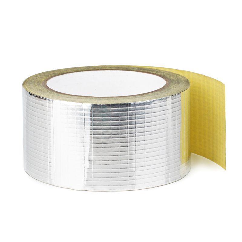 Лента самоклеящаяся алюминиевая армированная, фото 2