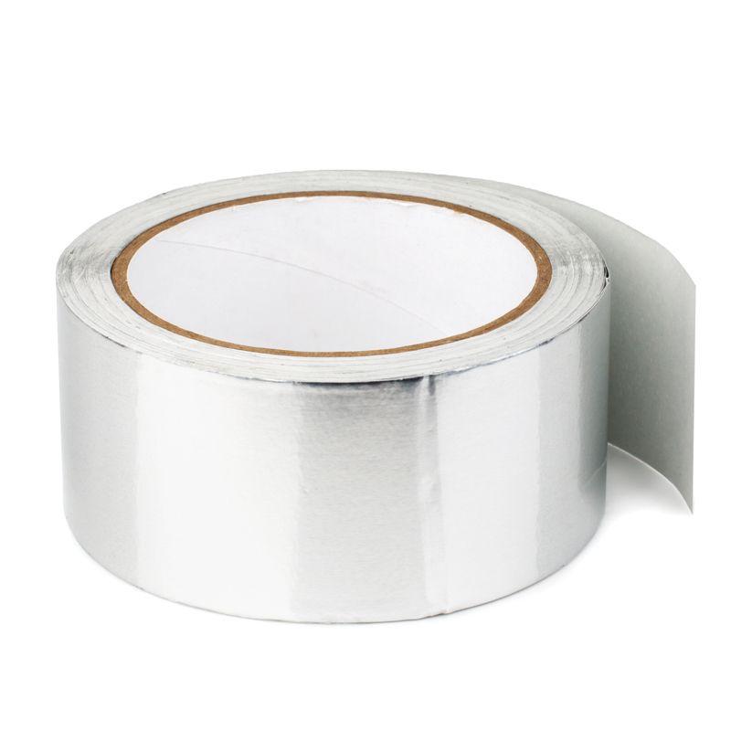 Лента самоклеящаяся алюминиевая с лавсановой пленкой PET, фото 2