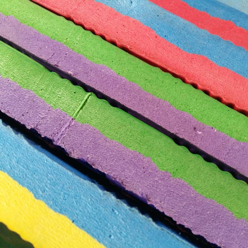 Будомат ласточкин хвост из ЕВА, цветовая гамма, фото