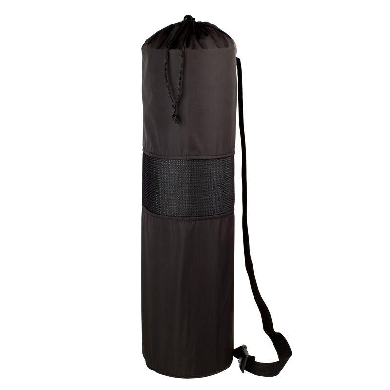 Чехол XL для туристического каремата шириной 60 см, толщиной от 10 до 12 мм (диаметр до 20 см), черный, фото 2