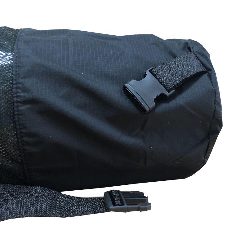 Чехол XL для туристического каремата шириной 60 см, толщиной от 10 до 12 мм (диаметр до 20 см), черный, фото 5
