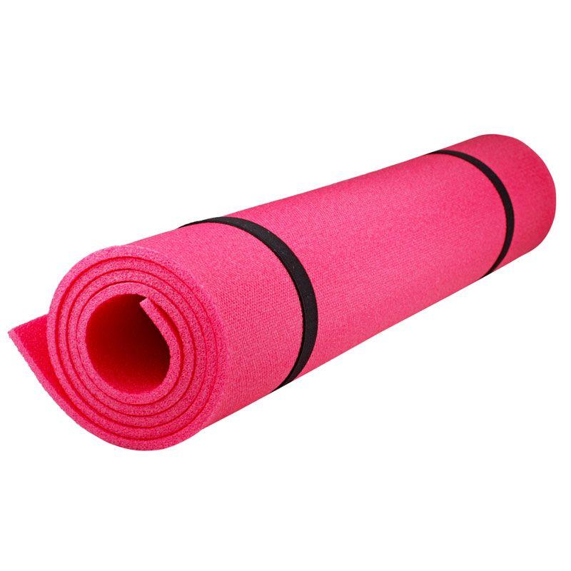 Коврик детский Polifoam (Полифом) для занятий спортом (0,6 х 1,15 м), розовый, фото 1
