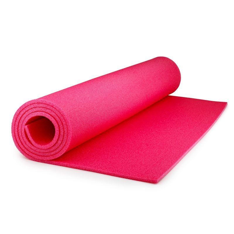 Коврик детский Polifoam (Полифом) для занятий спортом (0,6 х 1,15 м), розовый, фото 2