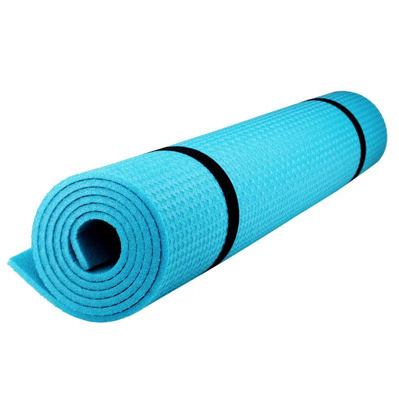 Коврик для фитнеса Polifoam (Полифом) (0,6 х 1,5 м), бирюзовый, фото 1