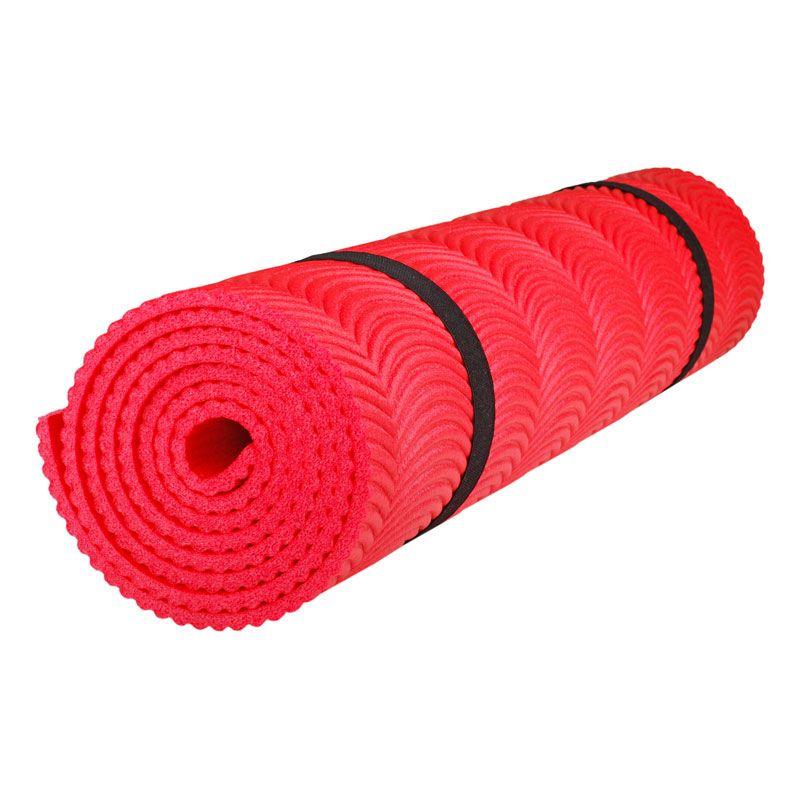 Коврик Polifoam (Полифом) однослойный c рифлением радуга (0,5 х 1,8 м), красный, фото 1