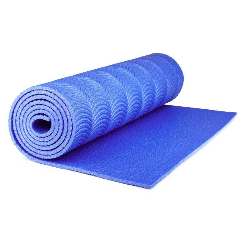 Коврик Polifoam (Полифом) однослойный с рифлением радуга (0,5 х 1,8 м), синий, фото 2