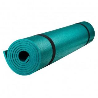 Коврик Polifoam (Полифом) для фитнеса ультрамягкий 7 мм (0,5 х 1,8 м), изумрудный, фото 1