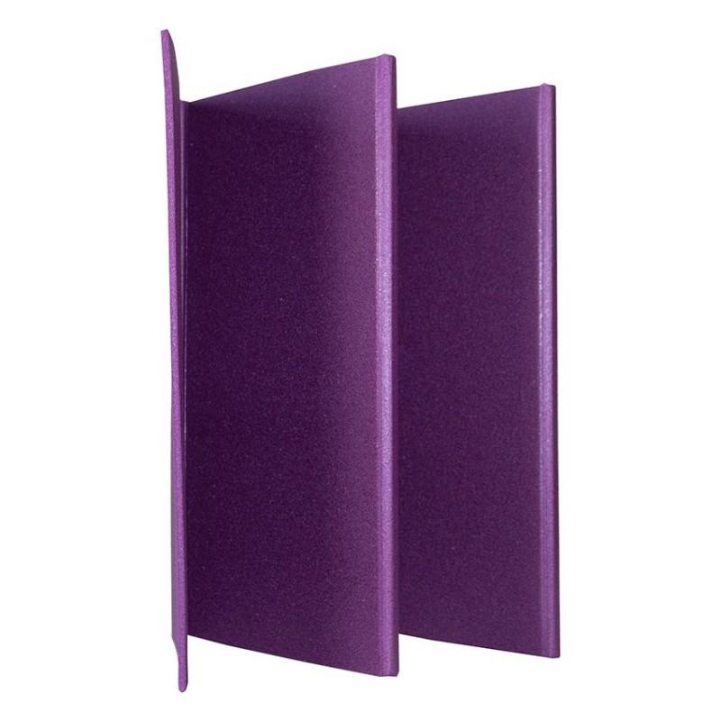 Коврик для фитнеса Polifoam (Полифом) складывающийся (0,58 х 1,5 м), фиолетовый, фото 4