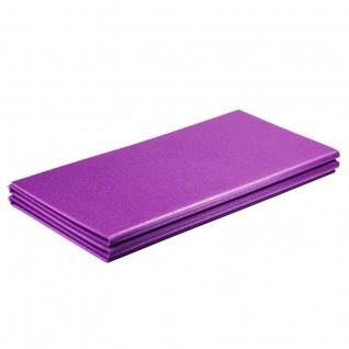 Коврик для фитнеса Polifoam (Полифом) складывающийся (0,58 х 1,5 м), фиолетовый, фото 1