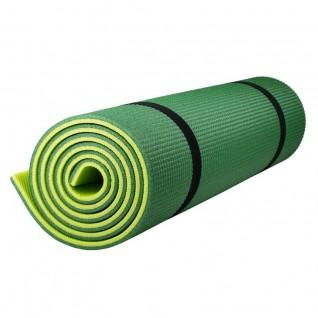 Коврик Polifoam (Полифом) туристический двухслойный 10 мм (0,5 х 1,8 м), зелено-салатовый, фото 1