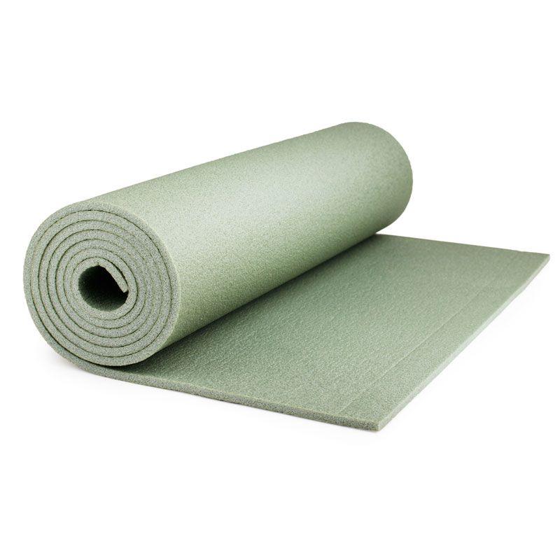 "Каремат Polifoam (Полифом) для кемпинга ""Пикник"" 6 мм (0,5 х 1,8 м), оливковый, фото 2"