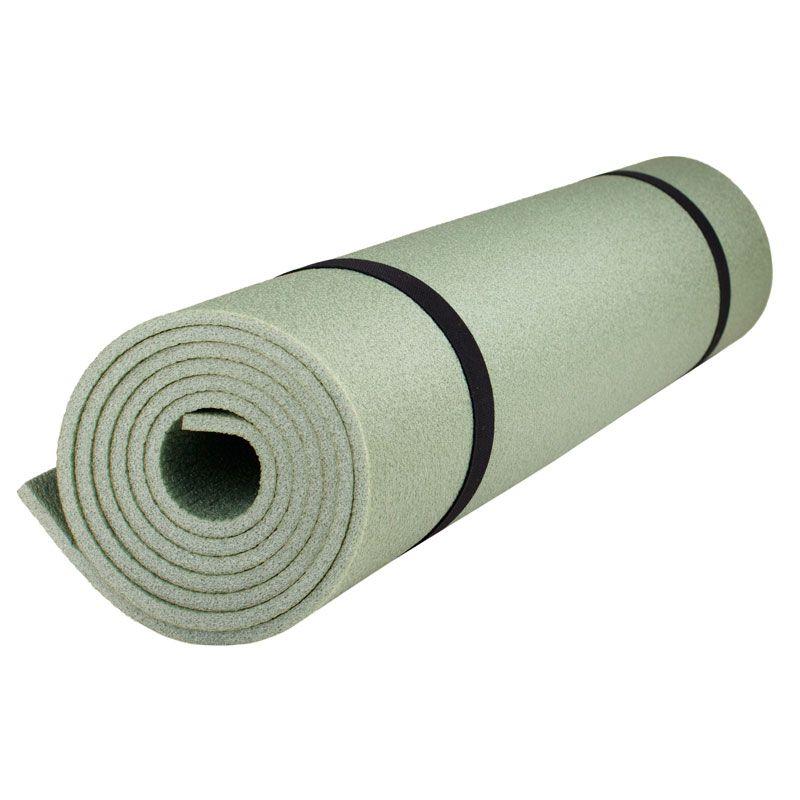 "Каремат Polifoam (Полифом) для кемпинга ""Пикник"" 6 мм (0,5 х 1,8 м), оливковый, фото 1"