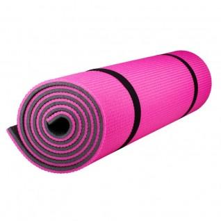 Коврик Polifoam (Полифом) туристический двухслойный 10 мм (0,5 х 1,8 м), розово-серый, фото 1