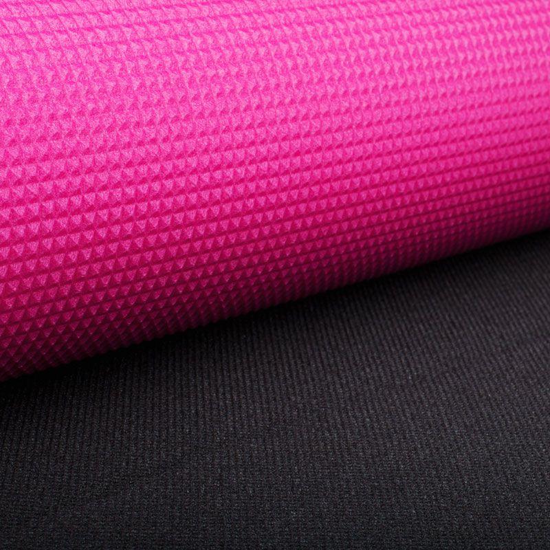 Коврик Polifoam (Полифом) туристический двухслойный 10 мм (0,5 х 1,8 м), розово-серый, фото 5