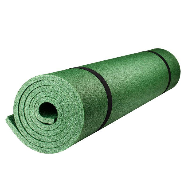"Каремат туристический Polifoam (Полифом) ""Эко"" 12 мм (0,6 х 1,9 м), зеленый, фото 1"