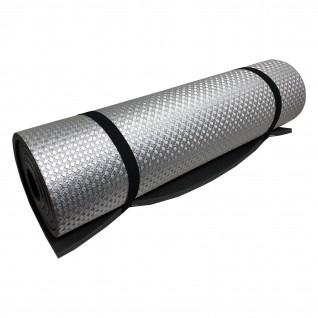 """Коврик туристический Polifoam (Полифом) """"Heat"""" с металлизированной пленкой 10 мм (0,55 х 1,8 м), серый, фото 1"""