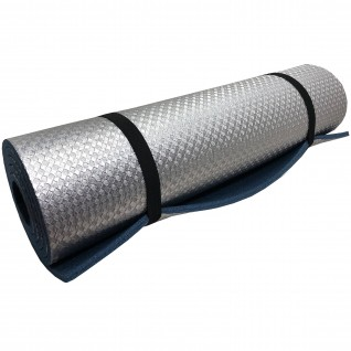 "Коврик туристический Polifoam (Полифом) ""Heat"" с металлизированной пленкой 10 мм (0,55 х 1,8 м), синий, фото 1"
