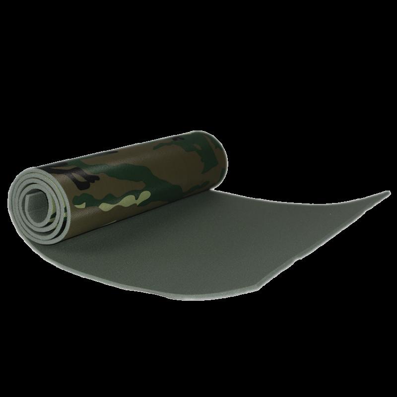 Коврик Polifoam (Полифом) с декоративной пленкой хаки 7 мм (0,5 х 1,8 м), фото 2