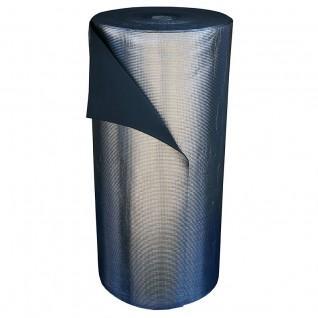 Вспененный полиэтилен Polifoam (Полифом) 8 мм ламинированный металлизированной пленкой ВОРР, рулон 110 м.кв. (ППЭ 3008/ВОРР 1,1х100м), фото 1