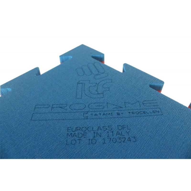 Татами ProGame WKF для занятий кикбоксингом 22 мм (ласточкин хвост), 1 х 1 м, фото 3