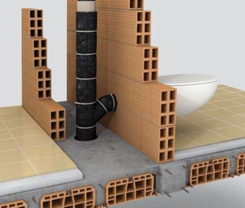 Изоляция канализации с помощью Polifoam