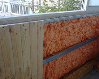 Polynor для утепления балконов и лоджий