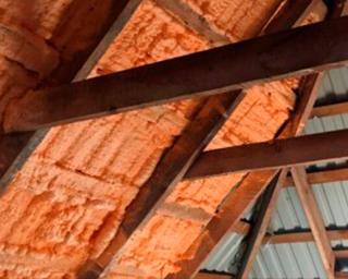 Polynor для утепления крыши изнутри