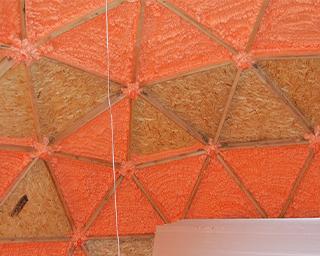 Polynor для утепления купольной крыши