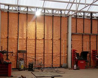Polynor для утепления складских и производственных помещений