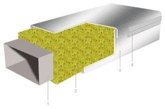 Схема установки отражающей изоляции Polifoam в сочетании с другими изоляционными материалами