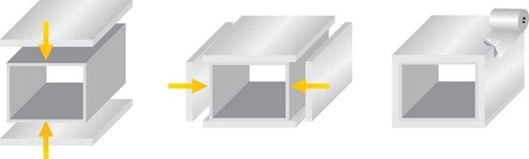 Схема монтажа Polifoam на вентканал