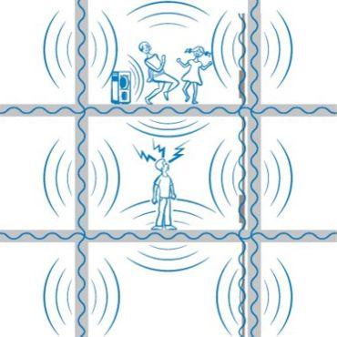 Звукоизоляция подложки под ламинат в квартире